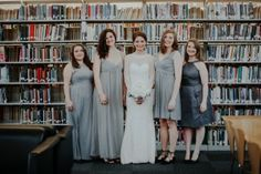 A mismatched bridal