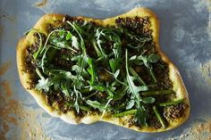 (via Asparagus and Arugula Pizza with Vegan Pesto recipe on...   #healthy #vegetarian #vegan #recipes Find more healthy recipes @ http://standouthealth.com
