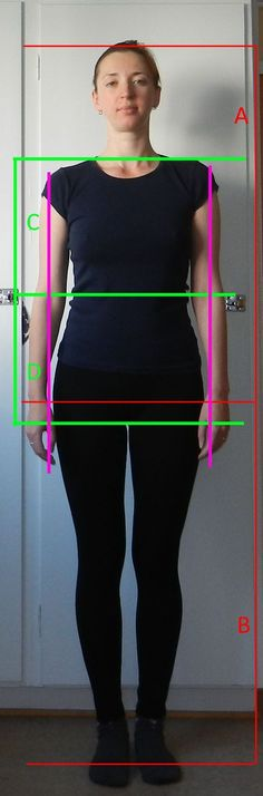 how to determine body proportions