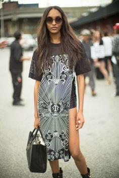 Jourdan-Dunn-Long-Shirt-Black-Shorts-The-Lifestyle-Reporter.jpg (736×1101)