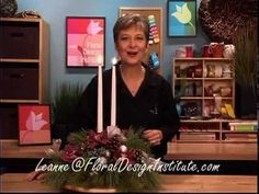 Christmas Centerpiece Floral Design Basics