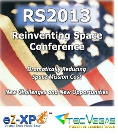TecVegas and eZ-Xpo Introduce the World's First Virtual Expo for Reinventing Space Conference 2013 | eZ-Xpo - Virtual Trade Show Made Easy