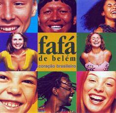 Avec le temps et au fil de la découverte de l'oeuvre discographique de Fafá de Belém, je me suis aperçu, bien souvent, que c'est la pochette de ses albums que je préfère. Raccourci un peu facile me direz-vous. Coração Brasileiro fait partie de la catégorie...