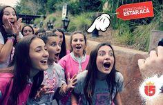 Pronto vas a estar filmando los mejores videos del mundo!  #Enjoy15 #Transatlántica #amigas #disney