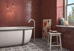 Tiles, Bathtub, Bathroom, Antiques, Interior, Mosaics, Bath, Room Tiles, Standing Bath