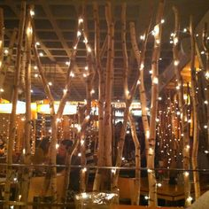 Loved the ambiance in here ! Cute place for some good sushi.  Haru NYC