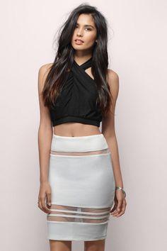 00705842cd Don t Tempt Me Skirt at Tobi.com  shoptobi Mini Skirts