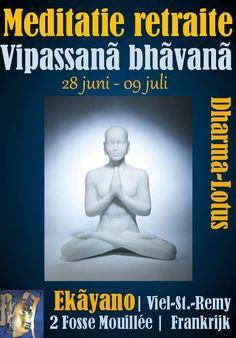 Vipassana meditatie retraite bij Ekãyano