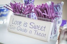 Purple Wedding Ideas >> http://www.yesbabydaily.com/blog/purple-wedding-ideas