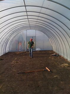 20'x48' PVC Greenhouse