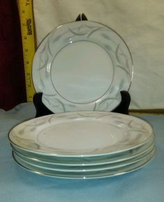 "Valmont China Royal Wheat 6 1/2"" Bread/Dessert Plates Set of 5 Excellent Cond. #ValmontChina"