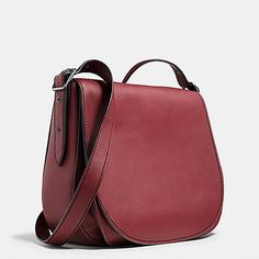 Coach Saddle Bag 35 in Glovetanned Leather