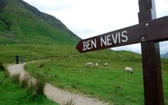 Ben Nevis - Fort William Scotland. Climbed to the top and down again. NEVER again and I mean NEVER!!!!!!