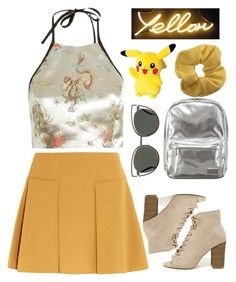 """I knew"" by maddysleepy ❤ liked on Polyvore featuring Topshop, Lipsy, Fendi, See by Chloé and Madden Girl"
