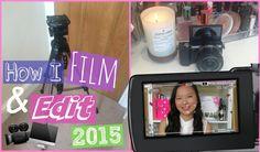 Behind The Scenes: How I Film & Edit 2015   Asia Jade