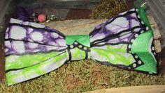 SOLDES Noeud papillon en wax véritable tissu cousu mains unique pièce pour création mixte