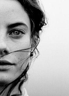half-face-self-portrait