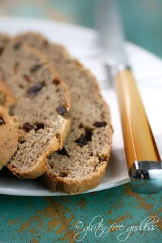 Spotted Dog (a gluten-free Irish soda bread with raisins) -- St. Paddys! So awesome!
