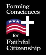 """Responsible citizenship is a virtue,  and participation in political life is a moral obligation.""  // USCCB"