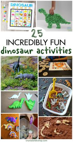 Tons of D is for Dinosaur Activities | CrystalandComp.com