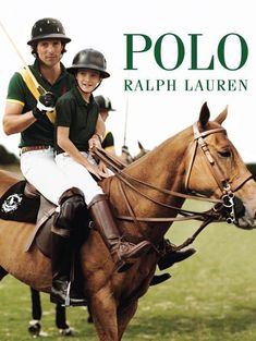 Pictured on horseback in his polo gear, Nacho Figueras fronts a 2015 Father's Day outing for Polo Ralph Lauren.