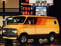 Classic Dodge Van Ad
