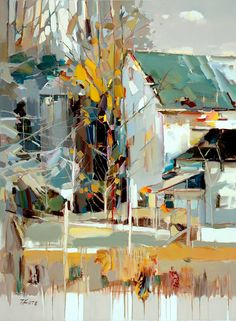 Josef Kote, Almost a Whisper, acrylic on canvas, 48 x 36""