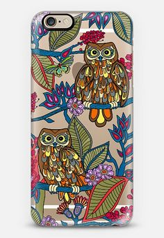 Check out my new @Casetify using Instagram & Facebook photos. Make yours and get $10 off using code: WTMAF6, owls #birds #iphone #case #transparent #flowers #casetify