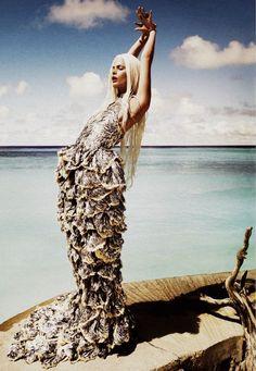 Alexander McQueen -The Little Mermaid gets her legs..*