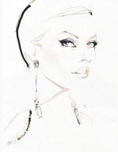 Ŧhe ₵oincidental Ðandy: David Downton: The Revived Art of Fashion & Portrait Illustration