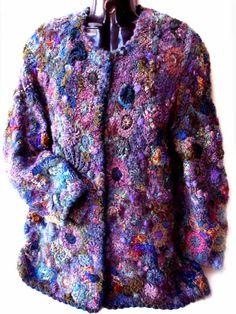 Prudence Mapstone purple-blue-cardigan | Flickr - Photo Sharing!