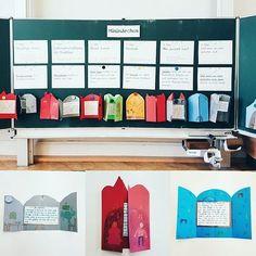 """Minimärchen - nach der Idee von Prof. Dr. Kohl """"Mit Kindern Geschichten erfinden und aufschreiben"""". Die Kinder waren total einfallsreich (beim schreiben und gestalten) und wollten wirklich alle ihr Märchen vorstellen. . . #lehrerleben #lehreralltag #schulalltag #ideenbörse #ideenaustausch #lehramt #referendariat #grundschulalltag #grundschule #lehrerfreuden #stolzelehrerin #teachersofinstagram #unterrichtsideen #teachersfollowteachers #teacherlove"""
