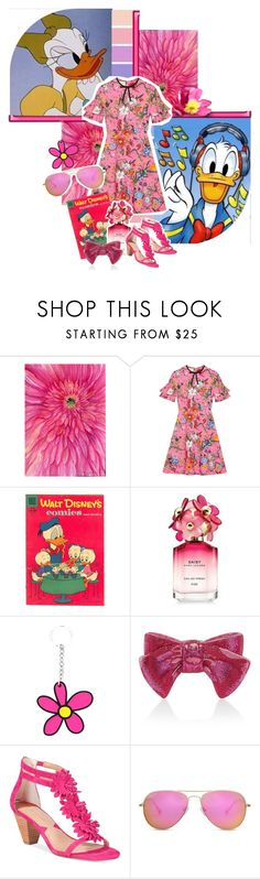 """""""Daisy and Donald Duck"""" by is-rid ❤ liked on Polyvore featuring Gerber, Seed Design, Gucci, Disney, Marc Jacobs, Christopher Kane, Judith Leiber and Adrienne Vittadini"""