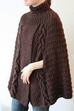 56 Ideas for knitting patterns poncho winter Knitted Poncho, Knitted Shawls, Crochet Shawl, Crochet Baby, Knit Crochet, Poncho Knitting Patterns, Knit Patterns, Baby Knitting, Poncho Shawl