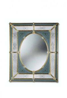 Murano Glass Mirror #820s