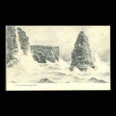 Vintage Postcard Valentines Rough Seas by JMCVintagecards on Etsy Postcards For Sale, Vintage Postcards, Rough Seas, View Image, Valentines, Etsy, Vintage Travel Postcards, Valentine's Day Diy, Valentines Day