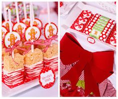 Candy Land Christmas Party - Karas Party Ideas - The Place for All Things Party christmas treats Candy Land Christmas, Holiday Candy, Christmas Snacks, Christmas Goodies, Holiday Treats, Holiday Parties, Holiday Fun, Holiday Recipes, Christmas Holidays