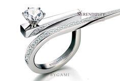 Body Chain Jewelry, Mom Jewelry, Simple Jewelry, Jewelry Rings, Jewelery, Fine Jewelry, Jewelry Design, Diamond Solitaire Rings, Diamond Jewelry