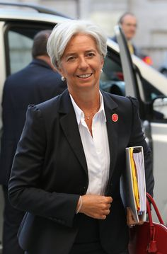 France's Finance Minister Christine Lagarde arrives for the G20 finance Minister's summit at the Treasury in Westminster on September 5, 2009 in London, England. British PM Gordon Brown has warned against withdrawing support for the global economy too soon, stating it could undermine tentative recovery signs, during a G20 meeting. Finance ministers are in London for a two-day meeting to map out rules to prevent a repeat of the crisis that brought the financial system to the brink of…