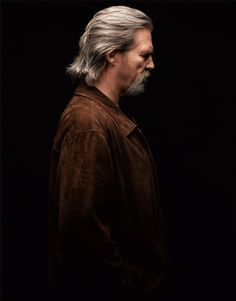 Jeff Bridges. (great profile shot and super rich color. I'm enjoying that the definition of his face, shadow, and harshness gives this photo so much truth and character. Photoshop was smart to leave this alone) ;)