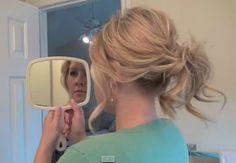 Pretty ponytail hairstyles tutorial.