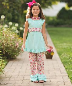 Look at this Scarlett Top & Pants - Kids on #zulily today!