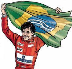 """""""Ayrton Senna: A Trajetória de um Mito"""" também mostra o começo da inimizade com…"""