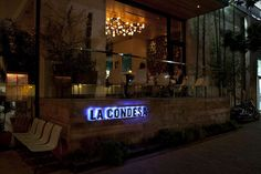 This mexican restaurant La Condesa (Austin, USA) was nominated for a 2010 James Beard Award for Best New Restaurant in the country. Commercial Design, Commercial Interiors, Concrete Stairs, W Hotel, Restaurant Guide, Amazing Spaces, The Neighbourhood, Architecture, Projects