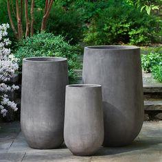 Fiber Cement Urban Mews Planter Set 93-120-5103