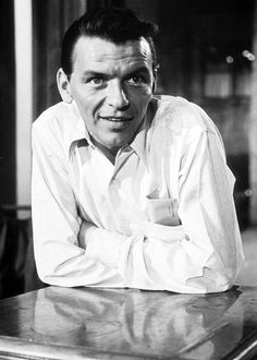 Frank Sinatra in The Man with the Golden Arn (1955). Great movie, great performance.