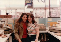 Photos shot in Sam Goody's record store, Paramus, New Jersey from about 1976 until 1980. Taken by a friend of an old acquaintance of Dan Shepelavy, courtesy of Shepelavy's blog.