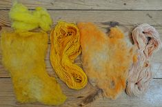 Dye Natural Fibers with Spices A Tutorial Over the past few weeks, blogs and Pinterest boards have been abuzz with posts about natura...