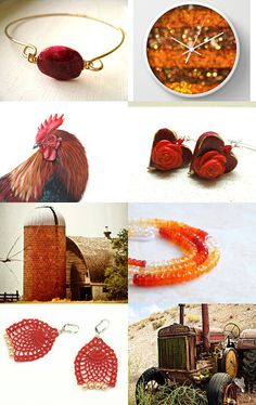WHICH WAKE UP CALL?  by Janet Long on Etsy--Pinned with TreasuryPin.com