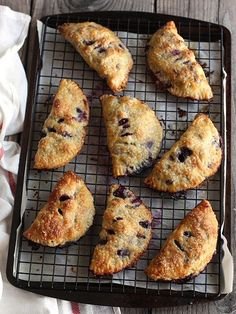 Blueberry Hand Pies by Completely Delicious!